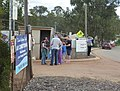 People at the entrace to the 2013 Toodyay Show.JPG