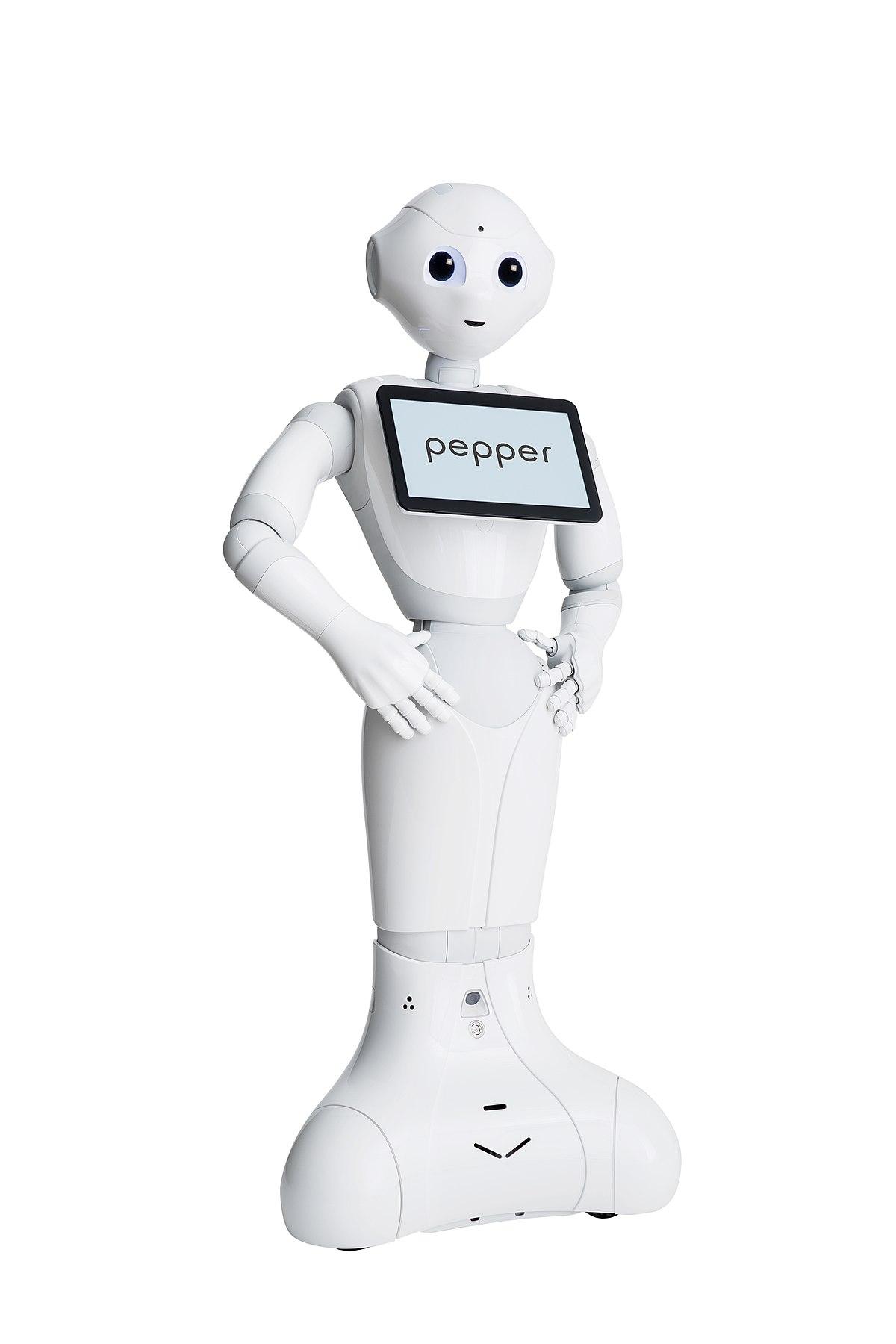 pepper robot � wikip233dia