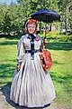 Period Costume, Drake Day Circus at Drake Well Park, August 24, 2013.jpg