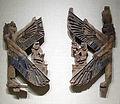 Periodo tardo, XXVI-XXX dinastia, pannelli da un tabernacolo con immagine divina, legno e vetro, 664-342 ac ca., da abusir.JPG