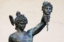 Il Perseo con la testa di Medusa (1554)