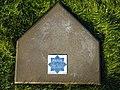 Pet grave polish sleuth - police dog - RIKI - pet cemetery Rędziany Poland.jpg