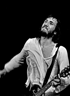 Pete Townshend - Pete Townshend performing in Hamburg, Germany in August 1972