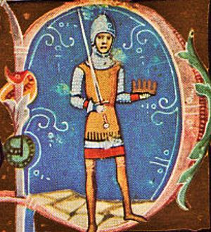 Peter, King of Hungary - From the Illuminated Chronicle