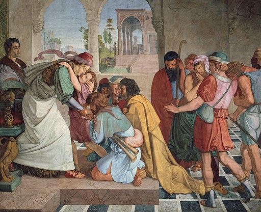 Peter von Cornelius - Joseph gibt sich seinen Brüdern zu erkennen - Google Art Project