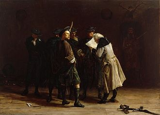 "Jacobitism - ""Jacobites"" by John Pettie:  romantic view of Jacobitism"