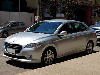 Peugeot 301 (2012) Compact car, produced by Peugeot