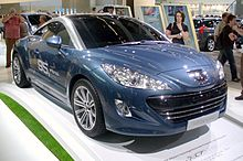 peugeot rcz wikipedia. Black Bedroom Furniture Sets. Home Design Ideas