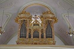 Pfarrkirche Hl. Margaretha Buch in Tirol - Orgel.jpg