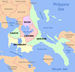 English: Political map of the CALABARZON Regio...
