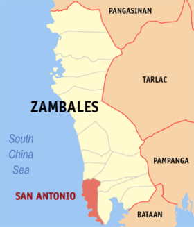 Image illustrative de l'article San Antonio (Zambales)