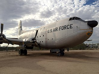 Douglas C-124 Globemaster II - Nose and front door of a C124.