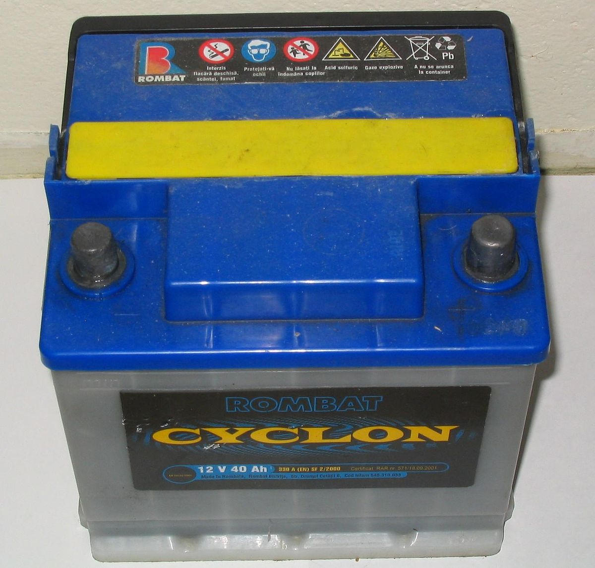 Lead Acid Battery : Lead acid battery wikipedia
