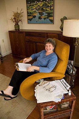 Phyllis Reynolds Naylor in her writing chair.jpg