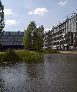 University of Giessen - Image: Physik und ifz