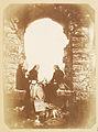 Picnic at Oystermouth Castle - Dulcie Vivian, Caroline Eden and Etta (Henrietta) Vivian (3989132069).jpg
