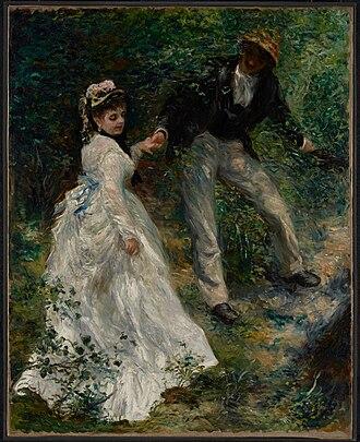La Promenade (Renoir) - Image: Pierre Auguste Renoir (French La Promenade Google Art Project