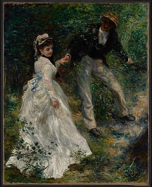File:Pierre-Auguste Renoir (French - La Promenade - Google Art Project.jpg