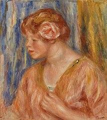 Young Woman with Rose (Jeune fille à la rose)