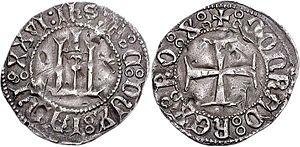 Pietro di Campofregoso - A grosso of Pietro di Campofregoso.