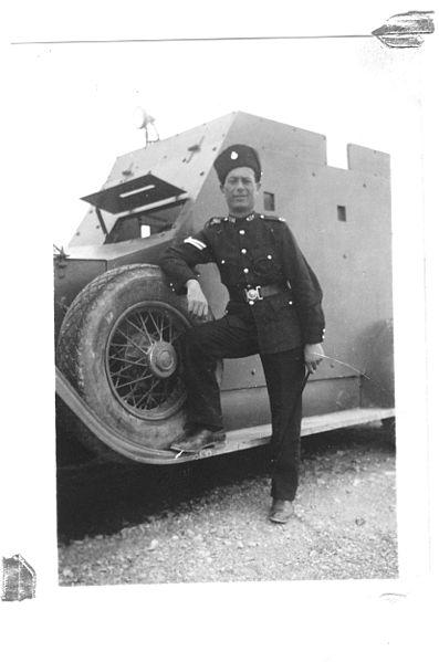 במדי שוטר בריטי בארץ ישראל המנדטורית
