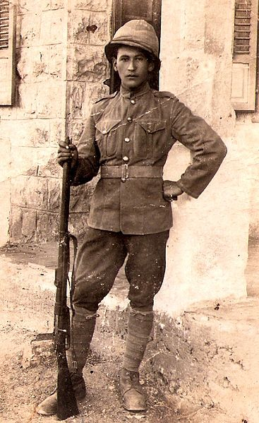 חייל בתקופת הטורקים