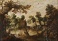 Pintor flamengo do século XVII - Paisagem com Cavaleiros.jpg