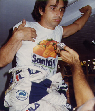 Nelson Piquet - Piquet at Monza in 1983