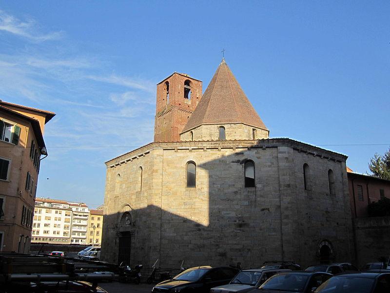File:Pisa - Chiesa del Santo Sepolcro.JPG - Wikimedia Commons