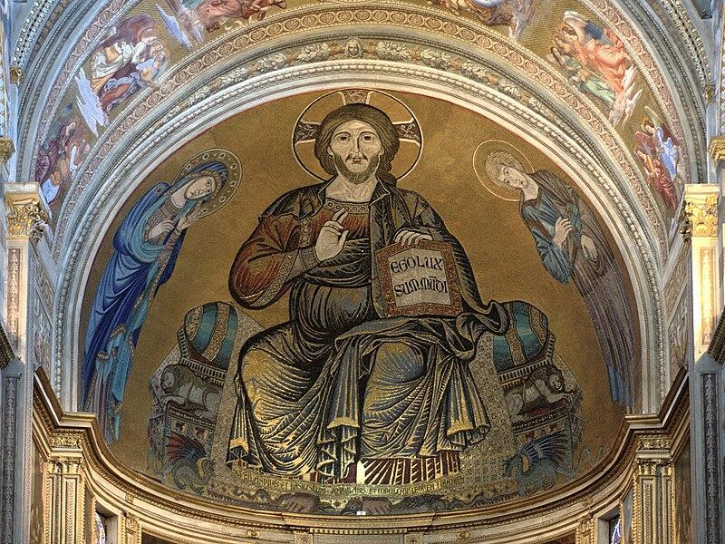File:Pisa Cathedral Pantokrator UP.jpg