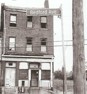 August Wilson - Wilson's childhood home at 1727 Bedford Avenue in Pittsburgh