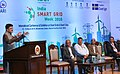 Piyush Goyal addressing at the India Smart Grid Week 2016-a International Conference & Exhibition on Smart Grids & Smart Cities, in New Delhi.jpg