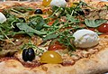 Pizza végétarienne à L' Happy'Za (Beynost).jpg