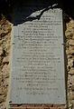 Placa amb els noms dels presoners al castell de Xàtiva.JPG