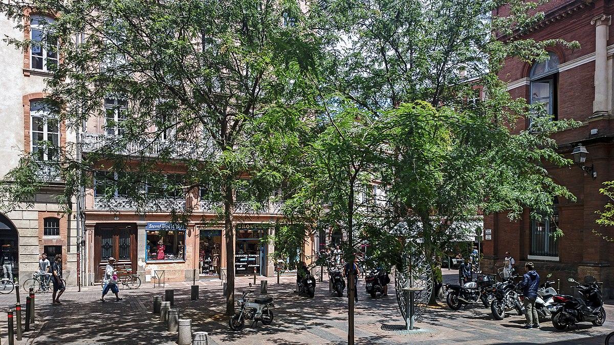 Place de la bourse toulouse wikip dia - Chambre des commerces toulouse ...