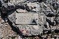 Plaque on Mt. Obzova, Island of Krk, Croatia.jpg