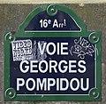 Plaque voie Pompidou Paris 1.jpg