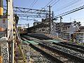 Platform of Wajiro Station (Nishitetsu) from north side.jpg