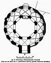 plattegrond reproductie uit karolingische und ottonische kunst bladzijde 181. - nijmegen - 20167153 - rce