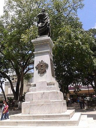 Maturín - Plaza Bolívar in Maturín.