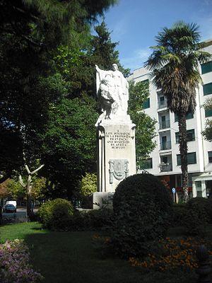 Español: Plaza de la Hispanidad.