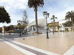Coquimbo - Image: Plaza de la ciudad de Coquimbo