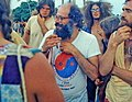 Poet and activist Allen Ginsberg with the protestors - Miami Beach, Florida 1 (cropped1).jpg