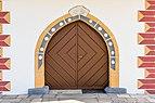 Poggersdorf Pfarrkirche hll. Georg und Jakobus d. Ä. Vorhalle Portal 03012019 5761.jpg