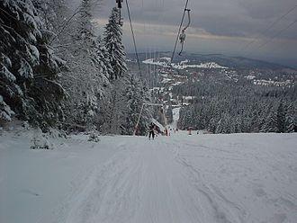 Brașov - Ski slope in Poiana Brașov