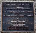 Point No Point Treaty plaque.jpg