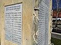 Pomník padlým vojakom v 1. svetovej vojne, Svätý Jur, Slovensko (bočný pohľad, pravá strana).jpg
