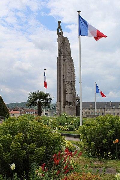 Pont-à-Mousson, war memorial