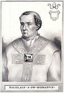 Pope Nicholas I pope