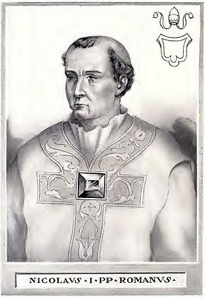 Pope Nicholas I - Image: Pope Nicholas I